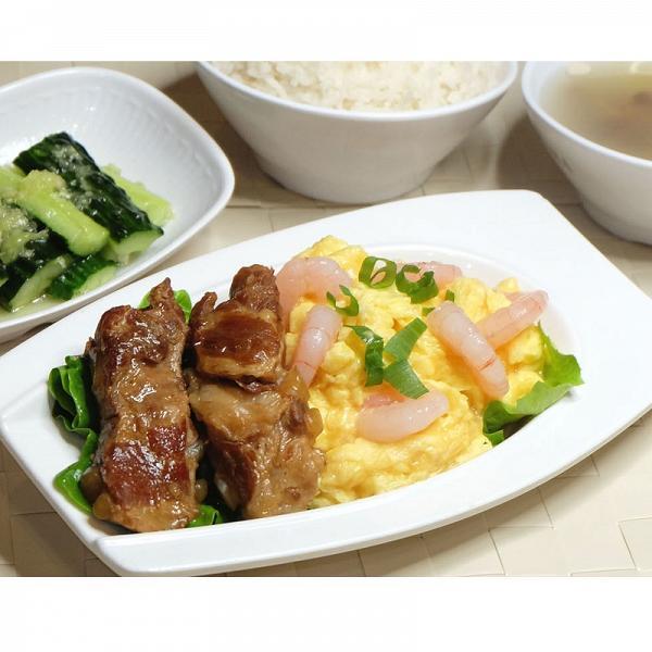 蝦仁泡蛋拼豬軟骨套餐2份 二人同行價︰HK$ 66