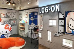 Hello Kitty主題限定店登陸LOG-ON︱中上環拍攝之旅兼歎新食店