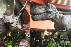 九龍灣商場化身侏羅紀世界︱漫遊西環路線
