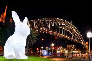 巨型月兔登陸灣仔/尖咀、荃灣星光隧道︱兩大主題樂園萬聖節主題