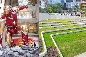 Marvel 7大超級英雄宜降銅鑼灣︱觀塘2大新公園 大草地+7大影相位