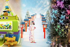 全港商場聖誕主題佈置合集︱聖誕到會優惠 Pizza/火鍋/壽司/燒肉