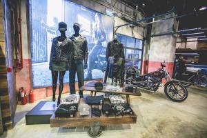 Harley-Davidson陳列室