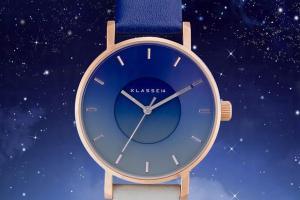 絕美天空之景!KLASSE14湛藍漸層手錶激發收藏慾