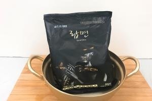 黑色型格亮照!韓國龍蝦湯即食麵