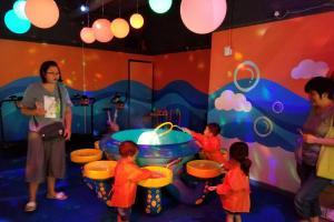 荃灣新開室內兒童遊樂場 1500呎泡泡海洋主題