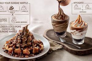 麥當勞新地甜品限時優惠 加推朱古力脆米雪糕窩夫!