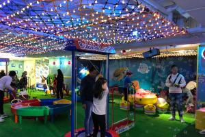 九龍灣1蚊1分鐘室內遊樂場!巨型泡泡/彈床單車/撈金魚