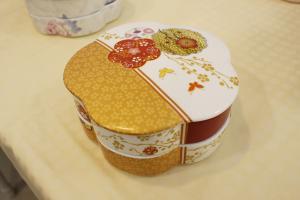 尖沙咀新年限定有得玩!任選圖案DIY日式花型全盒