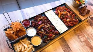 霸氣食!重量級韓式鐵板大餐