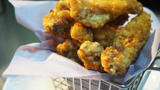 西營盤$22沙薑炸雞髀 新鮮即炸外脆內嫩!