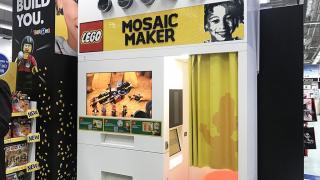 亞洲首部LEGO Mosaic Maker登港 即影即有黑白肖像積木!