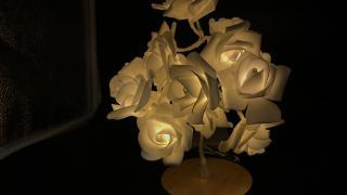 新蒲崗玩白色花樹夜燈 自己整限定情侶紀念禮物!
