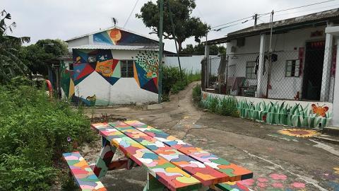 坪輋壁畫村