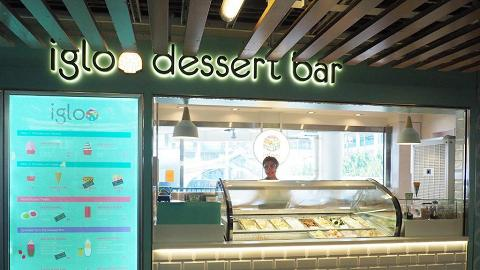 Igloo Dessert Bar