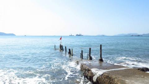 西環另一美境。沙灣