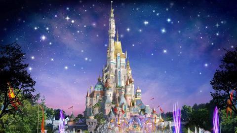 香港迪士尼樂園全新城堡 概念圖曝光