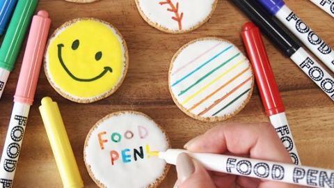 令甜品更加個人化!好似marker咁易控制的食用寫字裝飾筆