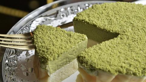 升級200%抹茶濃度!全新日本抹茶芝士蛋糕