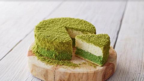 春季限定!北海道伴手禮店新出抹茶雙層芝士蛋糕