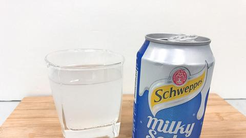 忌廉溝鮮奶﹖試飲玉泉Milky Soda