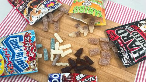 可樂糖大晒冷!德、日5款牌子大比拼