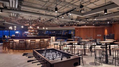 紅磡海旁2萬呎美食廣場新開幕 10間港、日、韓、泰餐廳進駐