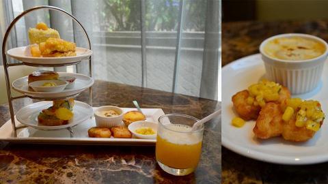 $100樓下歎到 土瓜灣酒店芒果主題下午茶