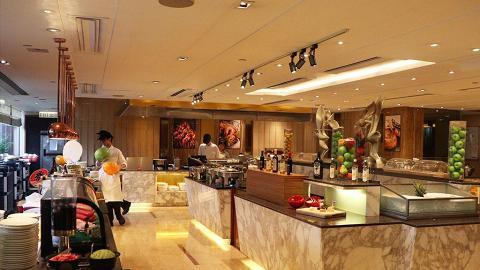 沙田酒店下午茶自助餐 主打士多啤梨甜品+韓食