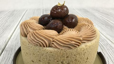 美心西餅秋季限定 濃滑金栗蛋糕