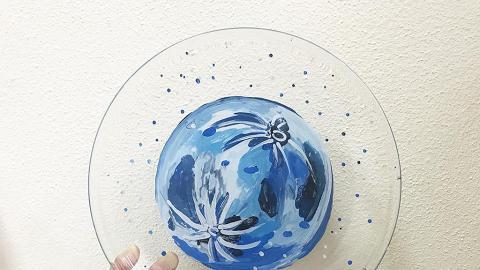 DIY手繪月球玻璃碟 $180畫出夢幻星球!