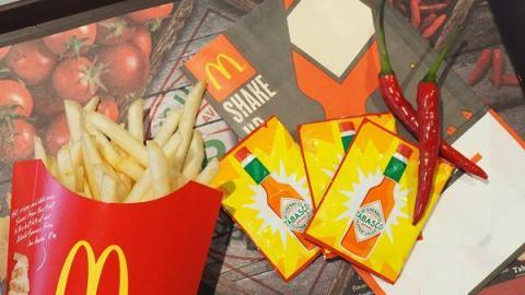 新口味SHAKE SHAKE薯條登陸麥當勞!聯乘辣椒仔系列第2擊