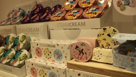 迪士尼系列登場!STEAMCREAM蒸汽乳霜