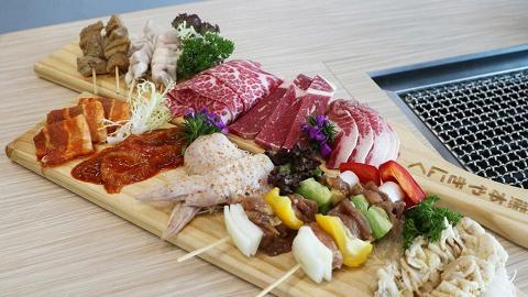 任食豬、牛、雞及大蝦燒生蠔!銅鑼灣新開日式燒肉放題