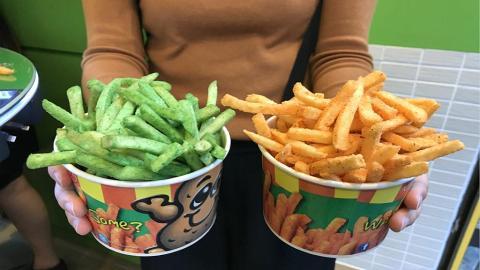 菲律賓人氣薯條殺入太子 睇勻新款薯條+芝士棒