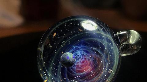 佐敦訂製夢幻宇宙玻璃珠 將思念回憶藏到星空!