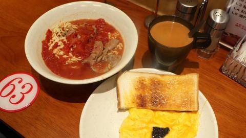 沙田懷舊主題冰室 食勻黑松露炒滑蛋+脆卜卜出爐菠蘿包