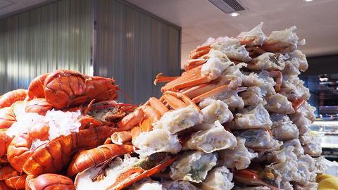 尖沙咀小洲際升級海鮮自助餐 任食海鮮山+即開生蠔+鐵板和牛