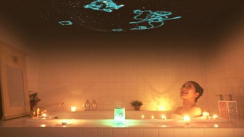 迪士尼公主滿天星夜燈!過萬粒星星投射浪漫星空