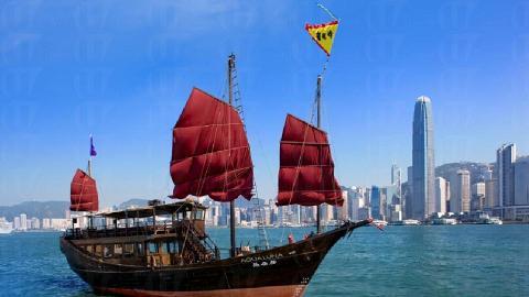 Aqua Luna 張保仔帆船