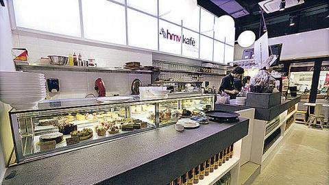 hmv kafé(跑馬地店)