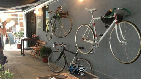 Cycle Cafe Concept