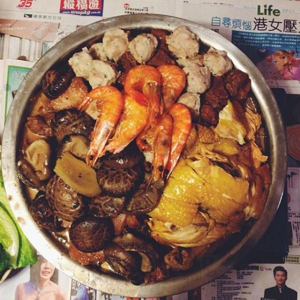 元朗屏山傳統盆菜(圖:IG@veggienara)