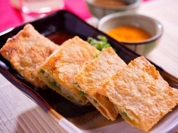 川燒薄餅(圖:FB@Chuan Shao Jordan川燒佐敦店)