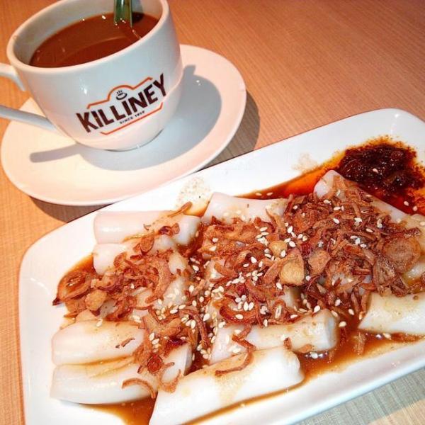 Kopi+自家娘惹醬伴腸粉(圖: IG@yantung_pudding0123)