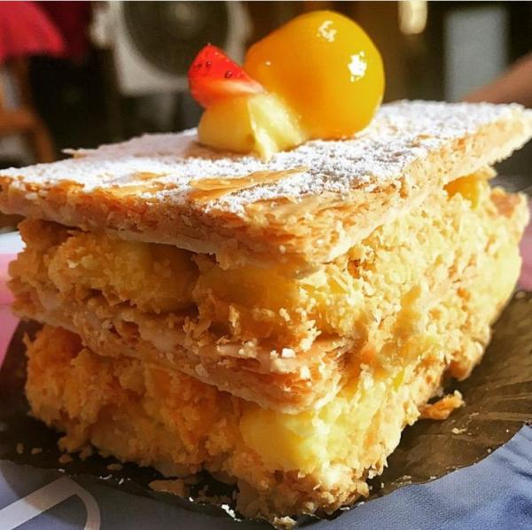Mimosa Patisserie拿破倫蛋糕(圖:IG@felixyim)