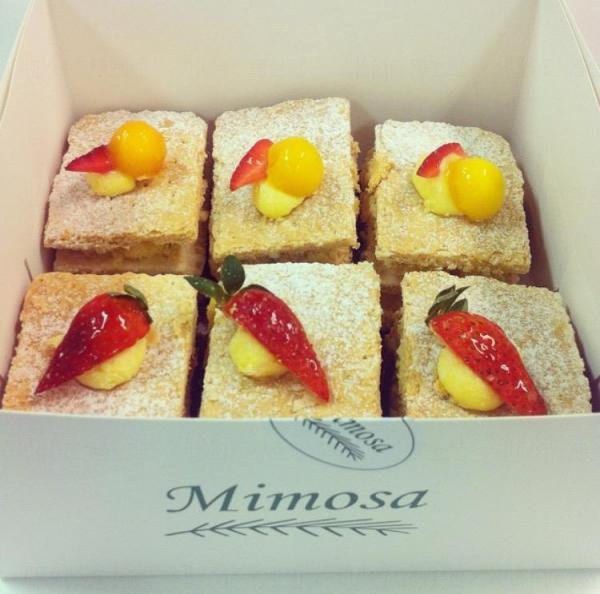 Mimosa Patisserie拿破倫蛋糕(圖:IG@puicwai)