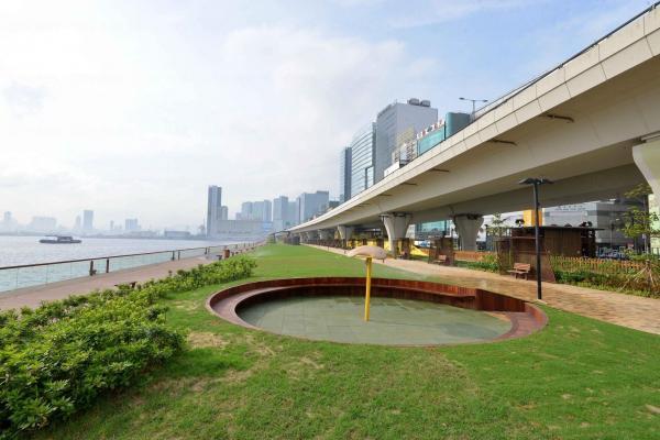 觀塘海濱花園第二期 (圖:FB@政府新聞網)