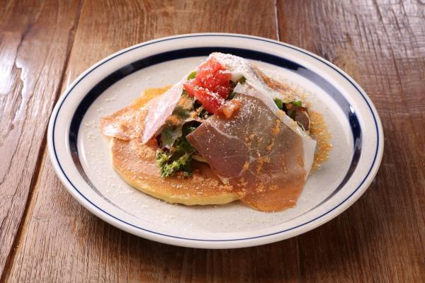 沙田Rosie's Cafe Prosciutto Ham Hotcake