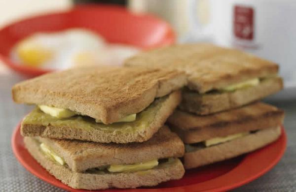 咖椰多士(Kaya Butter Toast)